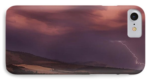 Roxy Ann Lightning IPhone Case by Mick Anderson
