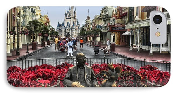 Roy And Minnie Mouse Walt Disney World IPhone Case by Thomas Woolworth