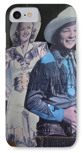 Roy Rogers And Dale Evans #2 Cut-outs Tombstone Arizona 2004 IPhone Case by David Lee Guss