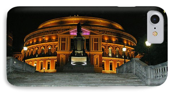 Royal Albert Hall At Night IPhone Case by Bev Conover