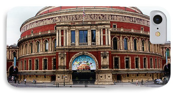 Royal Albert Hall London IPhone Case by Nicky Jameson