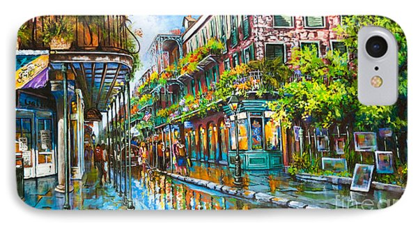 Royal At Pere Antoine Alley, New Orleans French Quarter IPhone Case by Dianne Parks