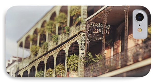 IPhone Case featuring the photograph Royal Balconies by Heather Green