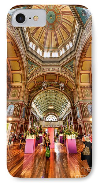 Royal Exhibition Building II IPhone Case by Ray Warren