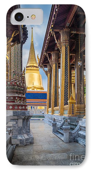 Royal Grand Palace Columns IPhone Case by Inge Johnsson