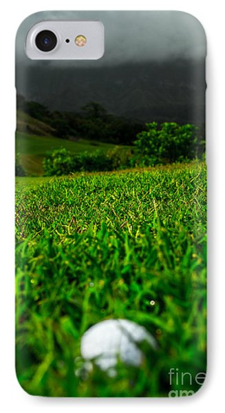 IPhone Case featuring the photograph Royal Hawaiian Golf by Angela DeFrias