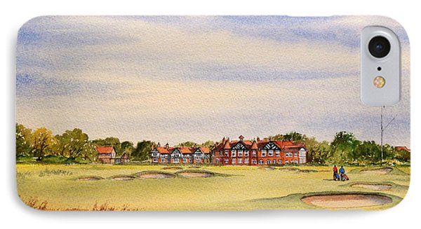 Royal Lytham And St Annes Golf Course IPhone Case
