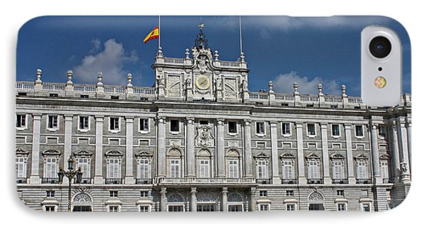 Royal Palace Of Madrid IPhone Case by Farol Tomson