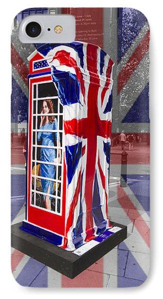 Royal Telephone Box IPhone Case