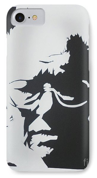 IPhone Case featuring the drawing Royal's Portrait by PainterArtist FINs husband Maestro