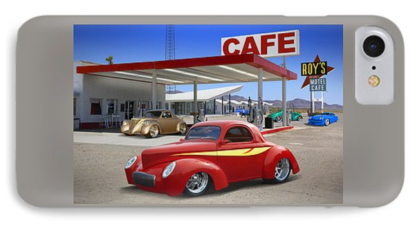 Roy's Gas Station 2 IPhone Case