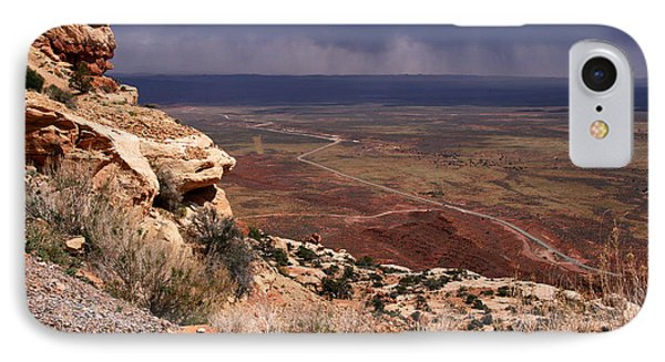 Rt. 261 From Moki Dugway IPhone Case by Butch Lombardi