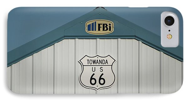 Rt 66 Towanda Plague Phone Case by Thomas Woolworth