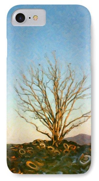 Rubber Tree IPhone Case by Spyder Webb