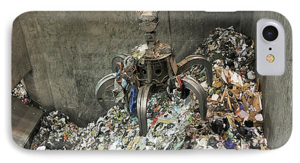 Rubbish At Refuse Facility IPhone Case by Public Health England