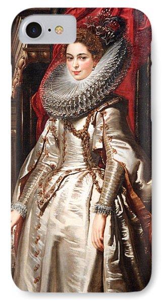 Rubens' Marchesa Brigida Spinola Doria IPhone Case by Cora Wandel