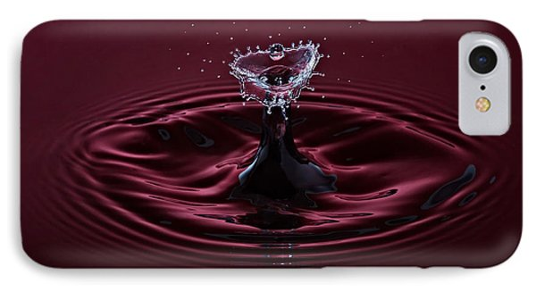 Rubies And Diamonds Phone Case by Susan Candelario