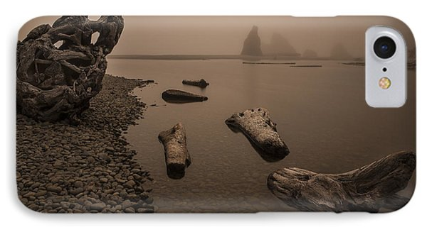 Ruby Beach Fog IPhone Case