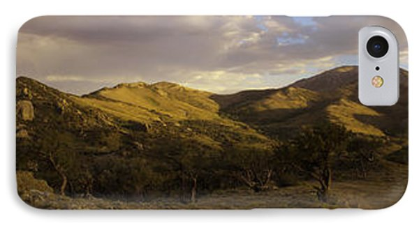 Ruby Mountain Panorama IPhone Case