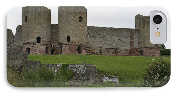 Ruddlan Castle 2 IPhone Case by Christopher Rowlands