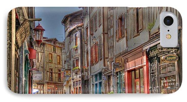 Rue De La Boucherie IPhone Case by Rod Jones