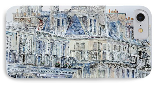 Rue Du Rivoli Paris IPhone Case by Anthony Butera