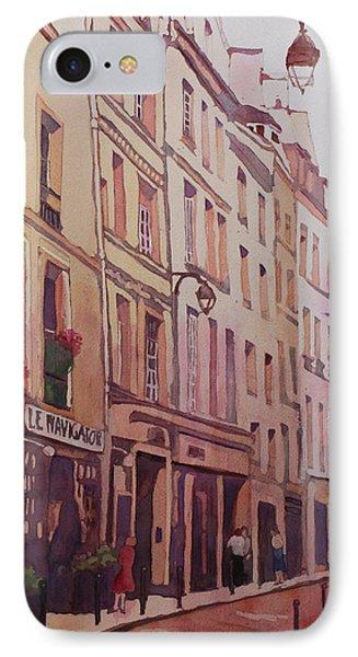 Rue Galande IPhone Case