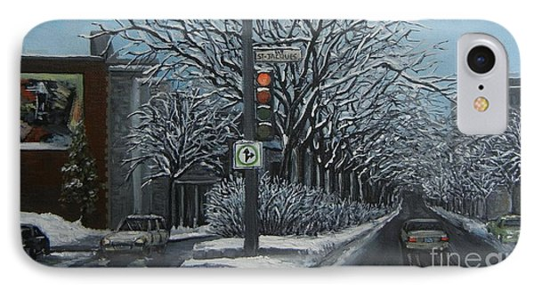 Rue St Jacques Phone Case by Reb Frost
