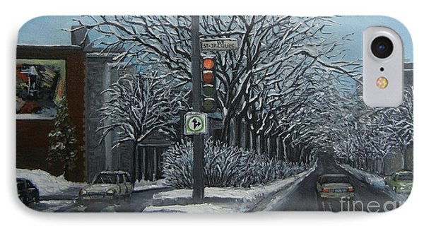 Rue St Jacques IPhone Case by Reb Frost