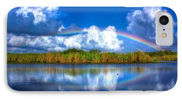 Rue's Rainbow IPhone Case by Mark Andrew Thomas