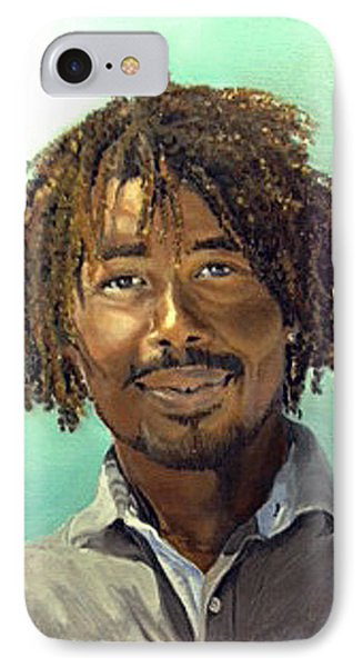IPhone Case featuring the painting Rufus by Lori Ippolito