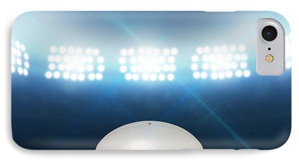 Rugby Stadium And Ball IPhone Case