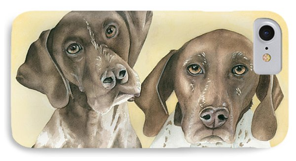 Ruger And Daisey   Phone Case by Kimberly Lavelle