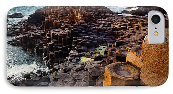 Rugged Giant's Causeway IPhone Case by Inge Johnsson