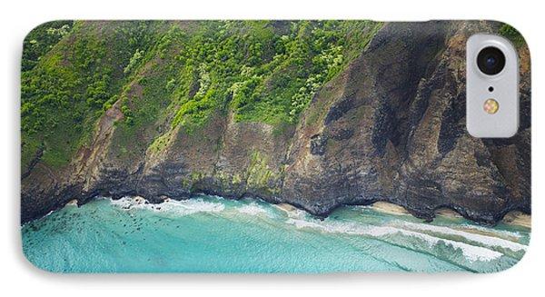 Rugged Na Pali Coast Phone Case by Kicka Witte