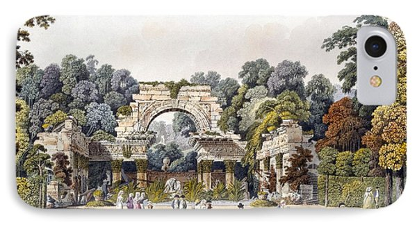 Ruin In The Garden Of The Palace IPhone Case