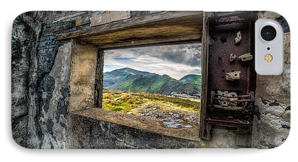 Ruin With A View  IPhone Case by Adrian Evans