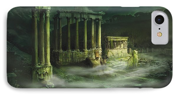 Ruined Temple Phone Case by Anthony Christou
