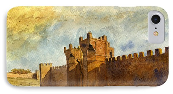 Ruins Morocco IPhone Case by Juan  Bosco