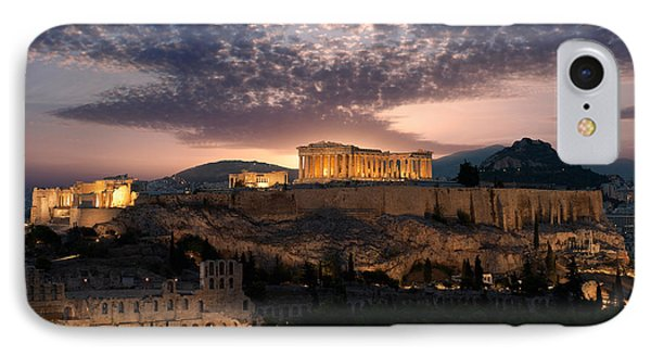 Ruins Of A Temple, Athens, Attica IPhone Case