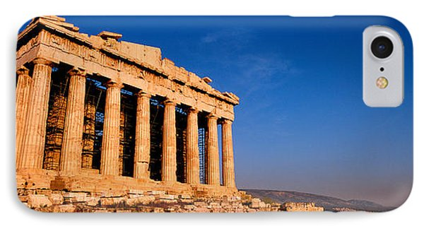 Ruins Of A Temple, Parthenon, Athens IPhone Case