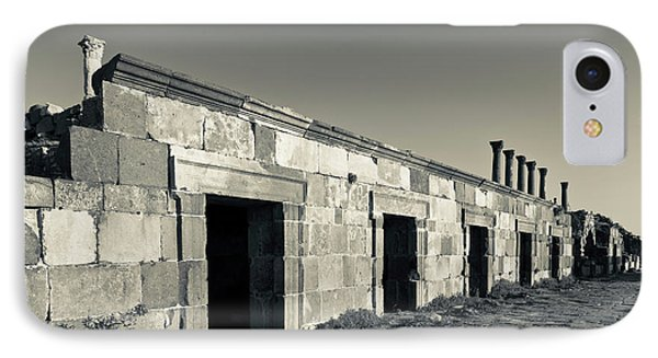 Ruins Of Ancient Jewish And Roman City IPhone Case