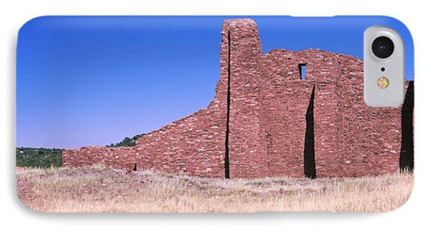 Ruins Of Building, Salinas Pueblo IPhone Case by Panoramic Images