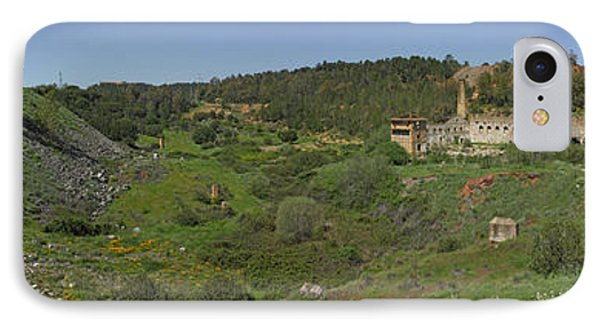 Ruins Of Buildings And Mining Effects IPhone Case by Panoramic Images