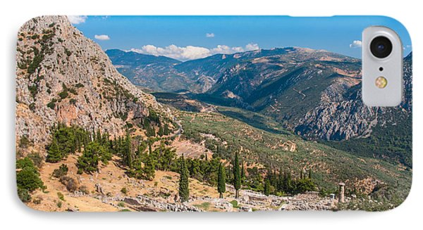 Ruins Of Delphi IPhone Case