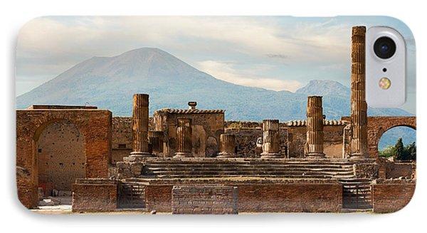 Ruins Of Pompeii IPhone Case by Gurgen Bakhshetsyan