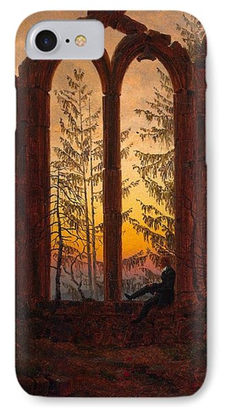 Ruins Of The Oybin Monastery The Dreamer Phone Case by Philip Ralley