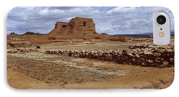 Ruins Of The Pecos Pueblo Mission IPhone Case by Panoramic Images