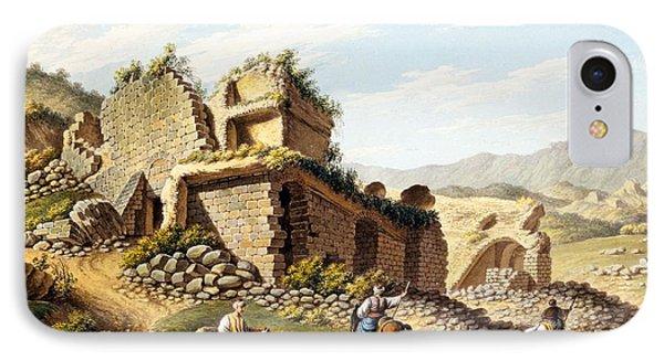 Ruins Of The Stadium, 1790s Phone Case by Gaetano Mercati
