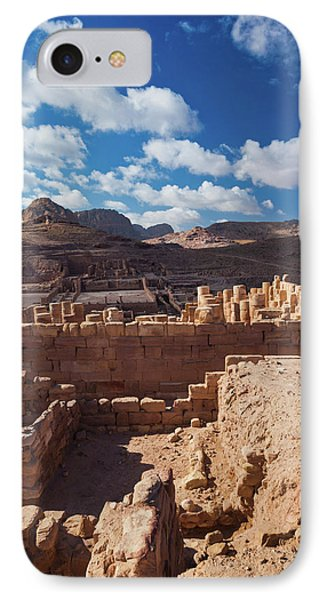 Ruins Of The Temple Of The Winged Lions IPhone Case